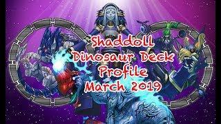 Youtube - YUGIOH Dinosaur Shaddolls Post BANLIST 2019