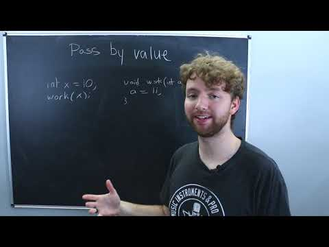 C++ Pass by Value, Reference, Pointer Explained