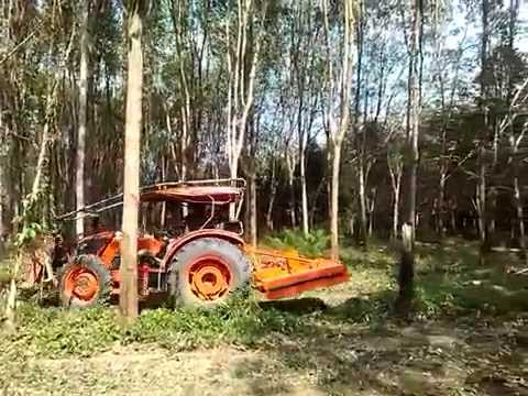KOBUTA M7040 ที่ตัดหญ้าขนาด 1.6 เมตร ลองตัดครั้งแรก คลิป 2