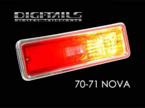 Digi Tails 1970 72 Chevy Nova Sequential Led Tail Lights