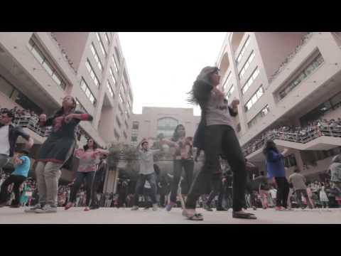 ICC World Twenty20 Bangladesh 2014 - Flash Mob North South University