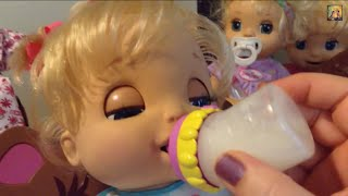 Video Baby Alive Feeding and Changing with Beatrix download MP3, 3GP, MP4, WEBM, AVI, FLV Juni 2018