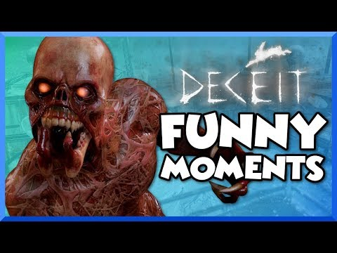 Deceit Funny Moments - Scary Zombies, Loud Screaming, Fails, Glitches, and Funny Reactions!