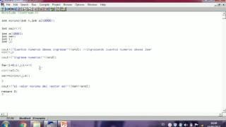 recursividad para imprimir el valor  menor de un vector
