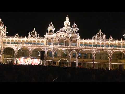 Mysore Dasara 2009 (Glimpse of Dasara Cultural Program in Mysore Palace)