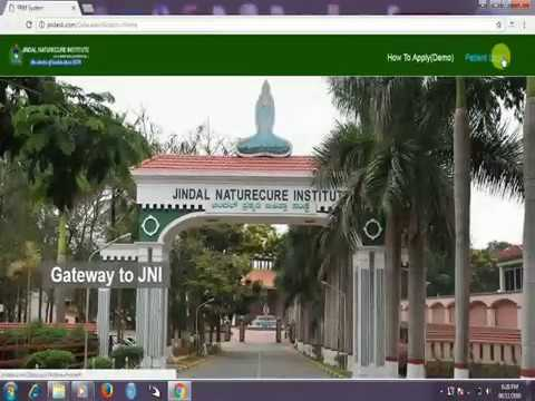 Jindal Naturecure Institute, Bengaluru | Step by Step Guide to Booking Process | Naturopathy