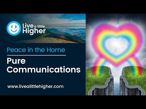 Peace In The Home - Pure Communications Shalom Bayit