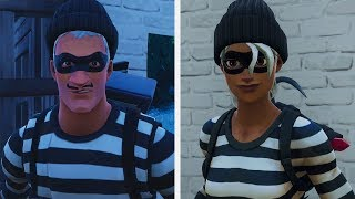 "NEW SKINS OF THIEVES ""PILANTRA"" AND ""RASCAL""! (Fortnite Battle Royale Live)"