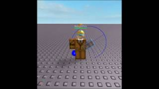 Nath390Fish showing you how rotating arms on ROBLOX is done.