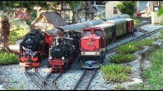 10.Östl. Gartenbahntreffen 2018, Teil 3/5: HSB