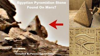 Egyptian Pyramidion Stone  Found On Mars?