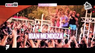 Sunday Revolution w Iban Mendoza Ibiza Revolution @ La Rocca   Promo Video