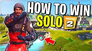 How To Win Your 1st Solo In Fortnite Chapter 2!