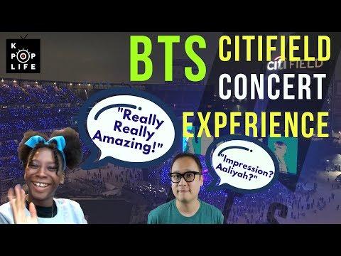 Bts Citifield Concert Experience(방탄소년단 뉴욕 씨티필드 공연 후기) (feat. Kpop Ssam + Aaliyah)