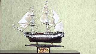 видео Модель корабля USS Constitution (Model Shipways) MS2040 Model Shipways (США)