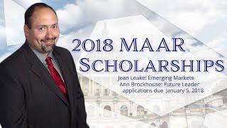 2018 MAAR D.C. Scholarships