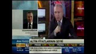 Forex altın uzmanı Volkan Kuğucuk, altın fiyatlarının seyrini yorumluyor. Bloomberg HT