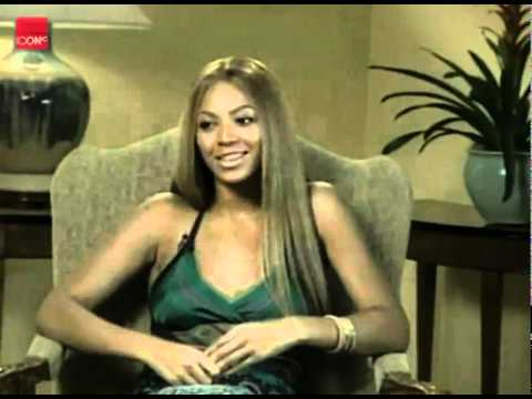 Beyonce Knowles talking about her career