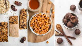 Vegan Lunchbox Snack Ideas (Healthy & Tasty!)