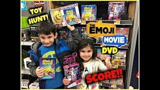 THE EMOJI MOVIE DVD Walmart Toy Hunt! SCORE! Bonus JOJO SIWA DVD!