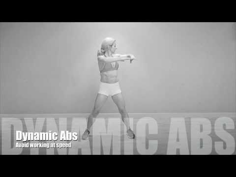 dynamic abdominal oblique muscles stretch - YouTube