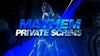 So I won the first PRO Mayhem scrim game. / Fortnite
