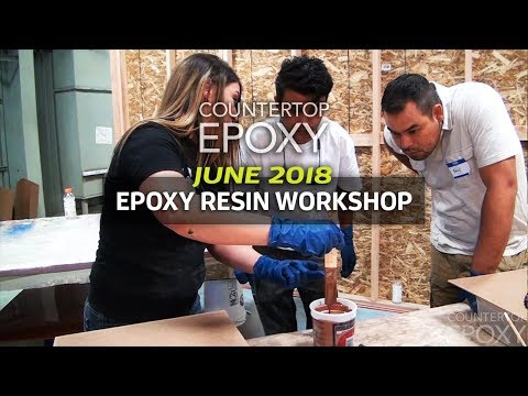 Epoxy Resin Workshop - 4 Day | June 2018