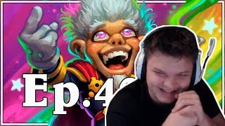 Сильвер смотрит: Funny And Lucky Moments - Hearthstone - Ep. 400