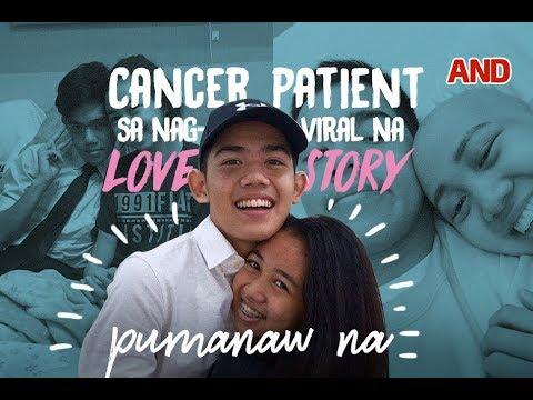 Cancer patient sa nag-viral na love story, pumanaw na