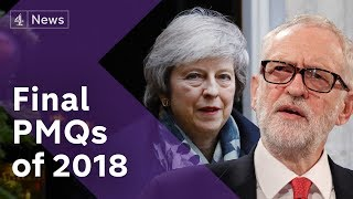 Brexit: Watch the final PMQs of 2018