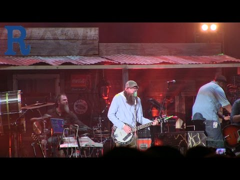 David Crowder performing live at The Roadshow 2015