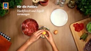 Hamburger Grundrezept - Rezept der ALDI inspiriert