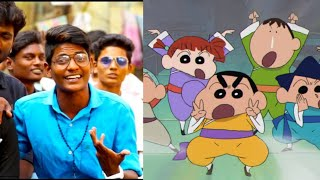 Gumbala Suthuvom Friend Song | Shinchan Version | WhatsApp Status