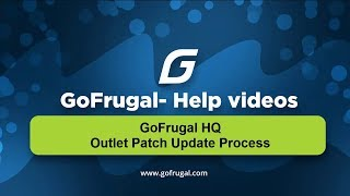How to update latest version to GoFrugal POS in your outlets if you are using HQ solution | English