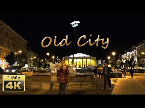 Vilnius, In the Old Town - Lithuania 4K Travel Channel