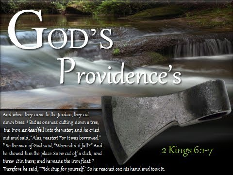 GOD'S PROVIDENCES  8/19/2017  https://youtu.be/KHa8oyhKTfE