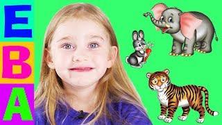 😺 Какие бывают животные? 🙈Познавательно видео для детей. 👦👧 Обучающие карточки. Детский канал ✔