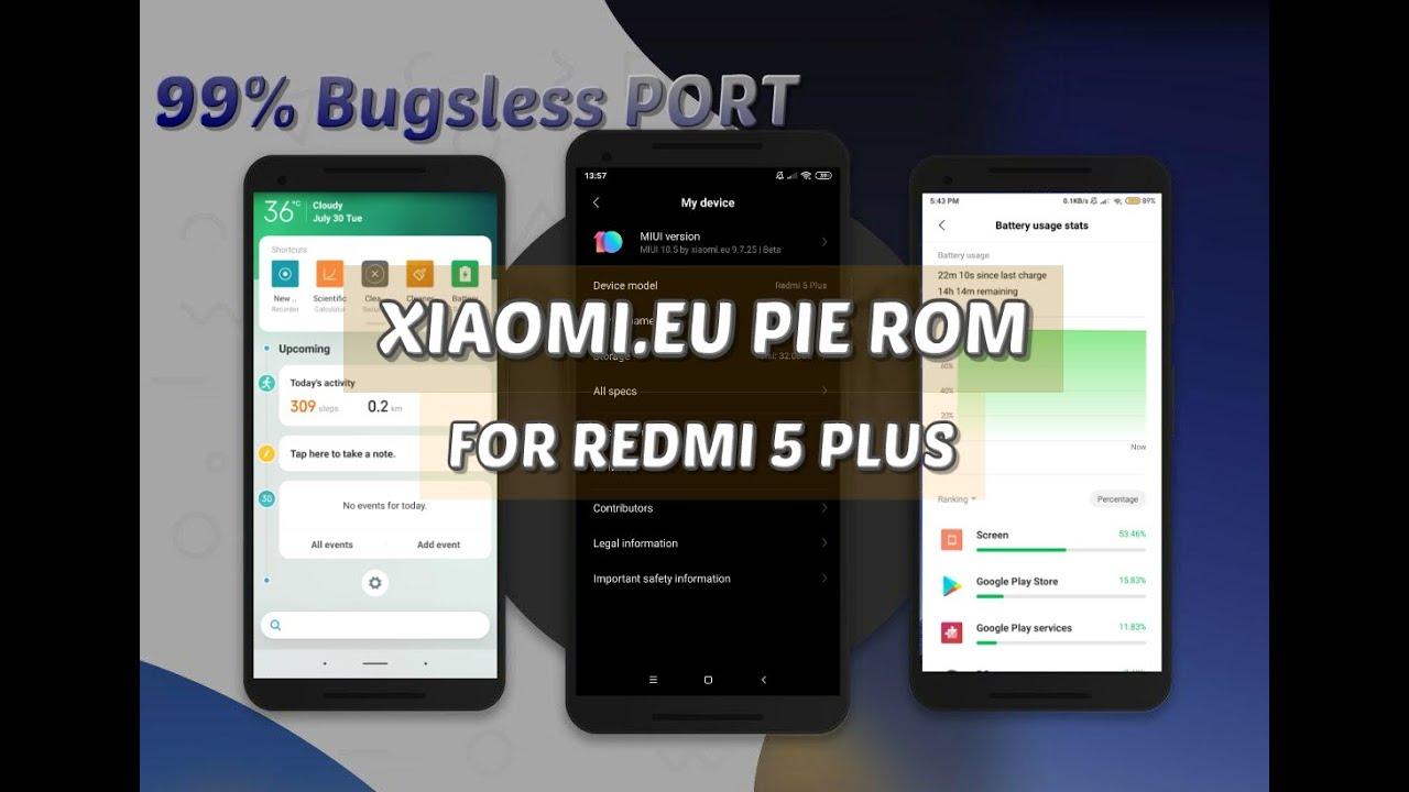 Redmi 5 Plus (Vince) Downloads - Telegram Canal