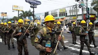 Desfile Militar completo El Salvador Centroamérica 2018
