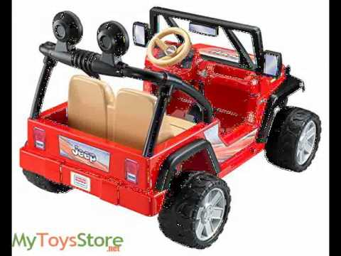 Power Wheels Jeep Wrangler Ride On By Fisher-Price