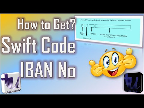 Swift Code \u0026 IBAN: How To Get These? The Easiest Way. (2020)