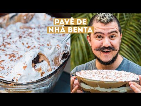 PAVÊ NHÁ BENTA COM CHOCOLATE E MARSHMALLOW