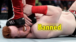 10 Dangerous Wrestling Moves Banned By WWE