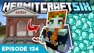 Hermitcraft VI 134 | LOSING MY DIAMONDS TO ISKALL 😭 | A Minecraft Let's Play