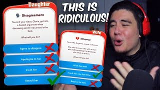 PICKING THE MOST EVIL OPTION TO EVERY SITUATION IN BITLIFE   Bitlife (Hilarious Life Simulator)