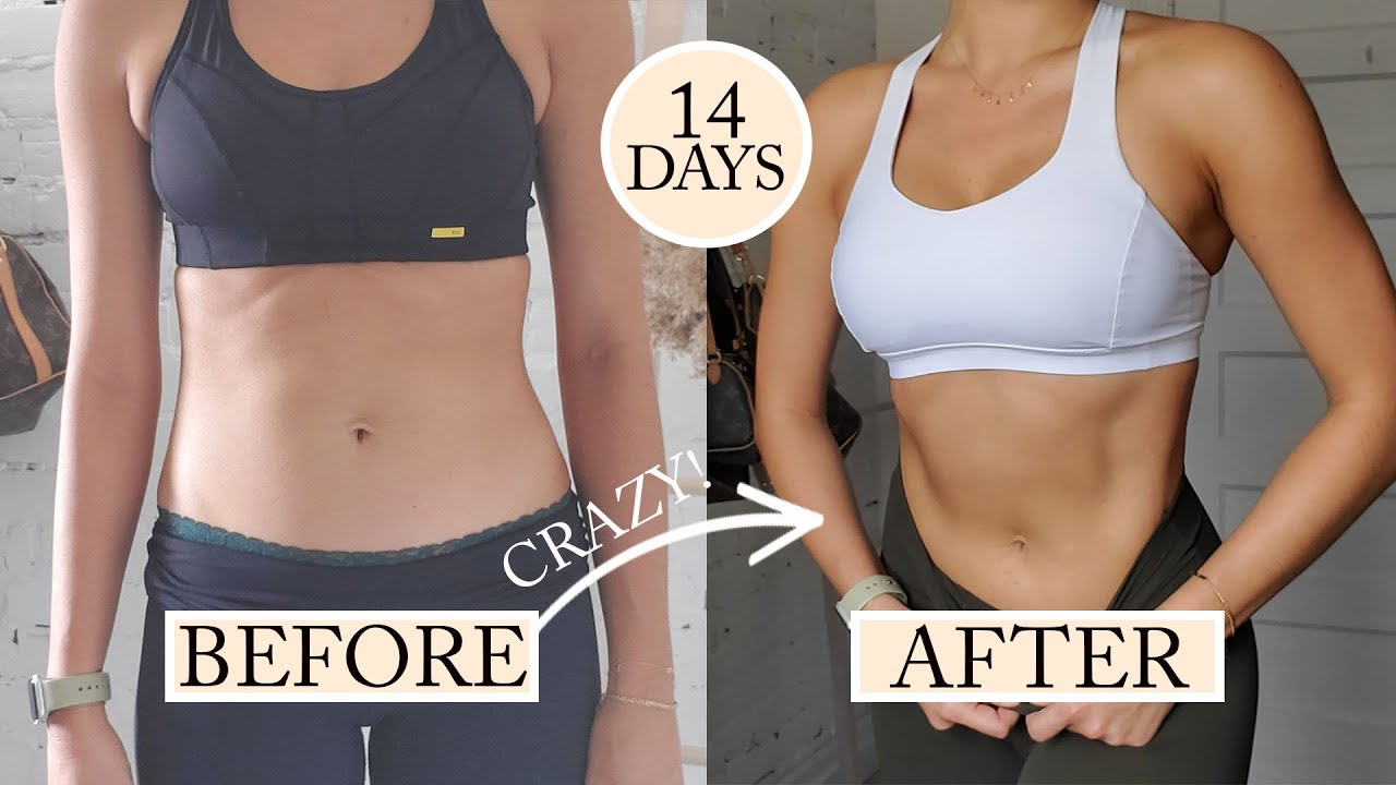 ABS IN 2 WEEKS?! I Did Chloe Ting's Shred Challenge ...