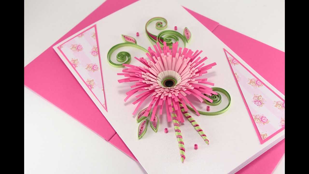Paper Quilling Patterns Birthday Cards Paper Quilling Card Design