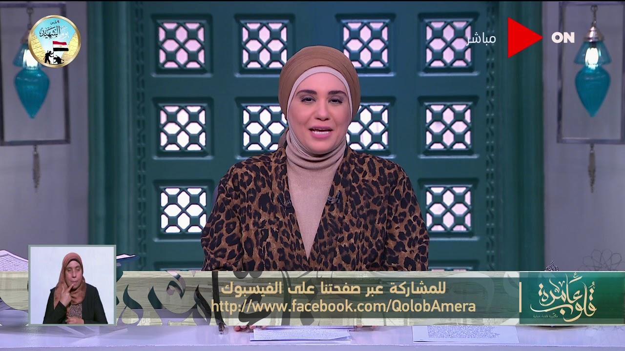 قلوب عامرة - د.نادية عمارة تشرح حكم -إظهار القدمين للمرأة- - حكم -المصافحة بين النساء والرجال-  - نشر قبل 3 ساعة