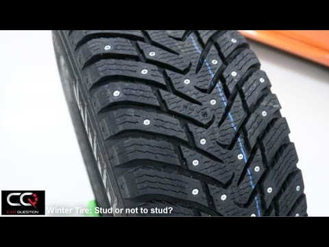 Winter Tires Stud Or Not To Stud A Winter Tire Youtube