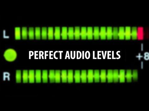 Premiere Pro: PERFECT Audio Levels